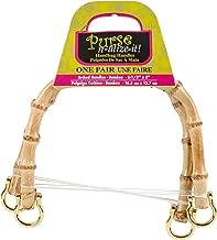 Blumenthal Lansing Arco Asas de Bolso de bambú, 18.28X 16X 2.61cm