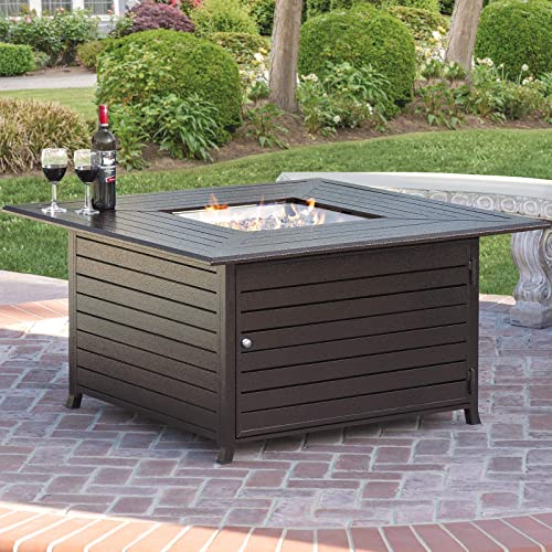Patio Furniture Sets With Fire Pit Table Amazon Com
