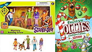 Mystery Holidays Scooby-Doo All Star Festive Follies Trio of Fun Tom & Jerry / Yogi Bear Animated Cartoons Christmas Specials + Velma, Scooby, Fred, Shaggy, and Daphne Action Figure Set