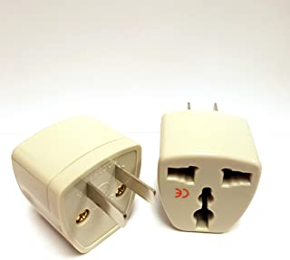 GAANDA 2 Pack Universal Power Travel Plug Adapter Converting