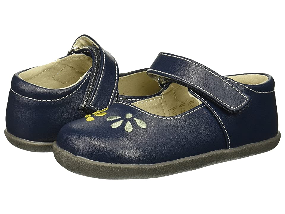 See Kai Run Kids Ginny (Infant/Toddler) (Navy) Girl