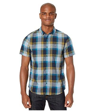 Prana Benton Shirt (River Rock Blue) Men