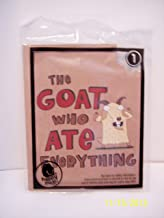 2013 McDONALDS Happy Meal Toy - Time To Read - Book #1 - The Goat Who Ate Everything