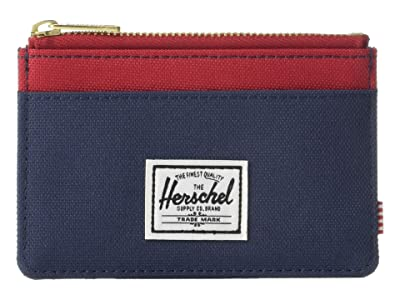 Herschel Supply Co. Oscar RFID (Navy/Red) Wallet Handbags