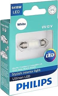 Philips 6418 Ultinon LED Bulb (White), 1 Pack