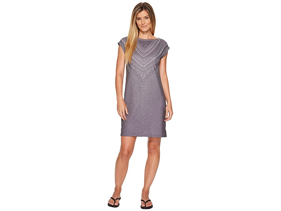 Prana Sanna Dress (Charcoal Synergy) Women