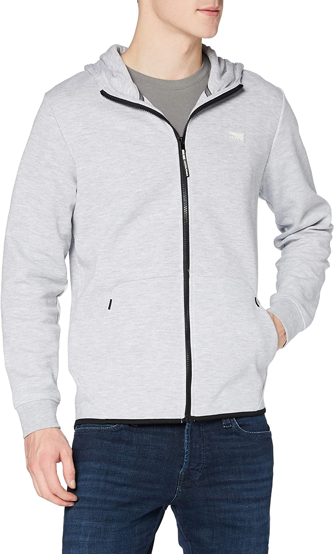 セール 登場から人気沸騰 当店は最高な サービスを提供します Jack Jones Men's Air Grey Hoodie Zip