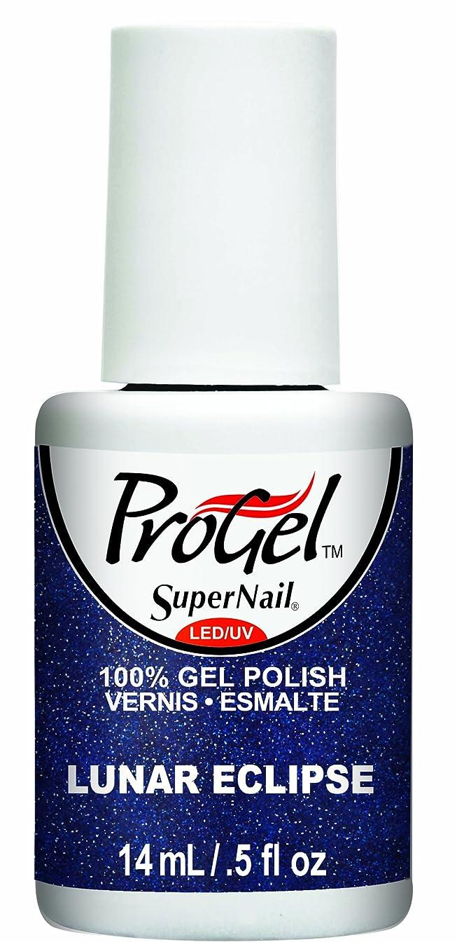 工業用オーナー永遠のSuperNail ProGel Gel Polish - Lunar Eclipse - 0.5oz / 14ml