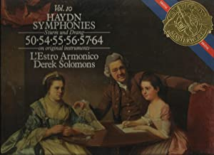 Haydn Symphonies, Vol. 10, Sturm und Drang, 50, 54-57, 64