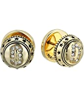 Marc Jacobs - Medallion Studs Earrings