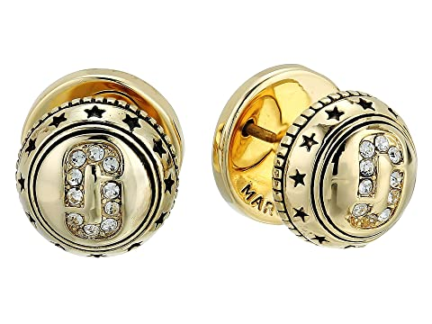 Marc Jacobs Medallion Studs Earrings