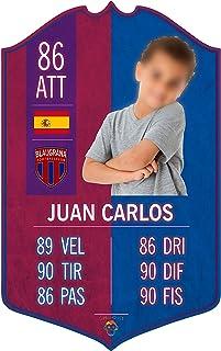 Adesivo Murale - Card Personalizzata FUT Player - Barcellona - Plug Calcio Soccer Cameretta Idea Regalo Squadra del Cuore ...