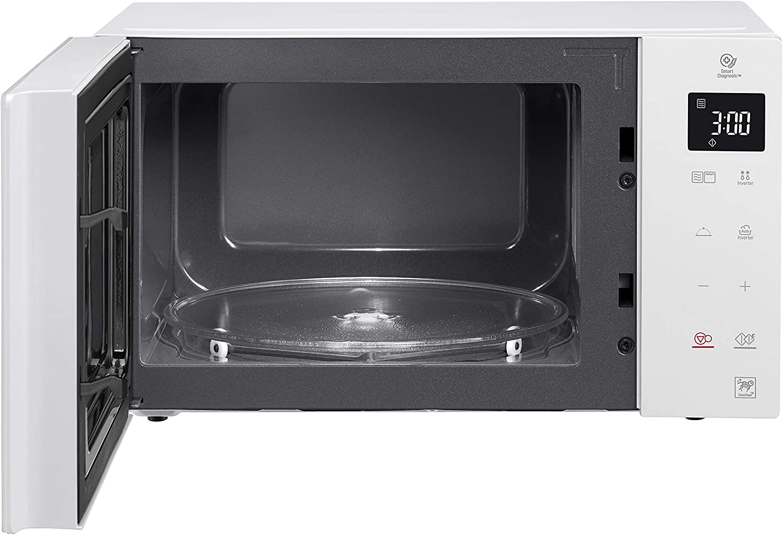 LG MH6535GDH - Micro-ondes Grill Smart Inverter blanc