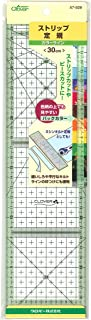 Clover ストリップ定規 カラーライン 30cm