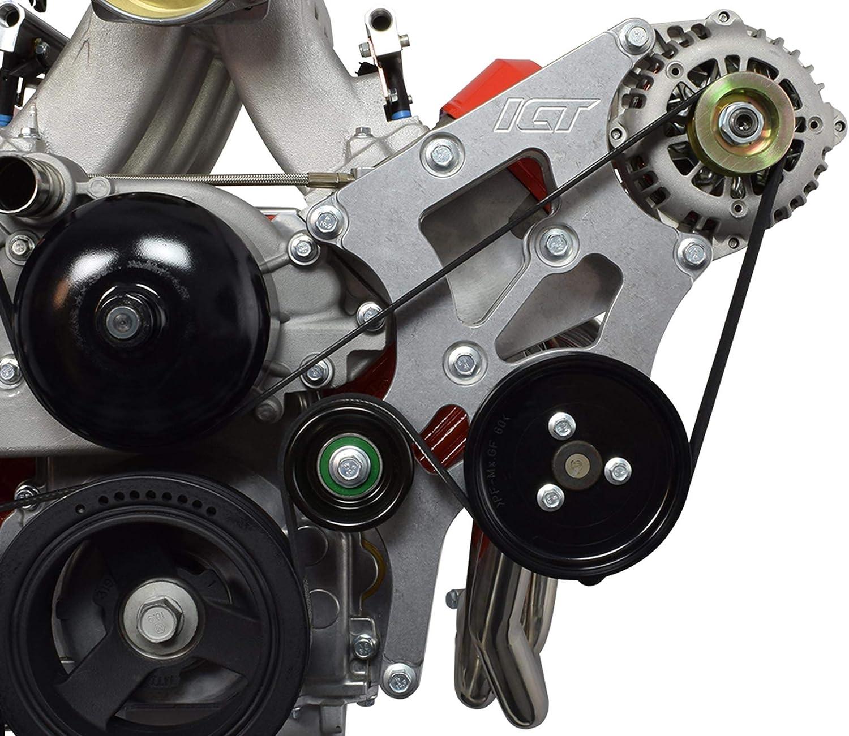 ICT Billet LS Swap Cheap SALE Mesa Mall Start Alternator and Kit Steering Bracket Cam Power