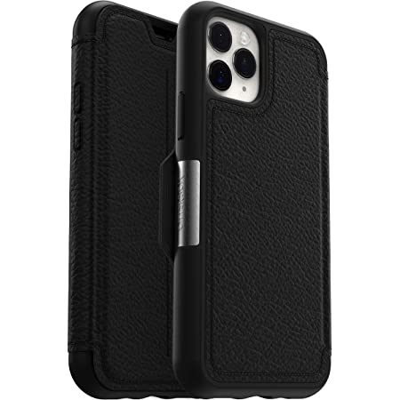Otterbox Strada Etui Elegante Sturzsichere Folio Schutzhülle Aus Echtem Leder Für Iphone 11 Pro Schwarz Elektronik
