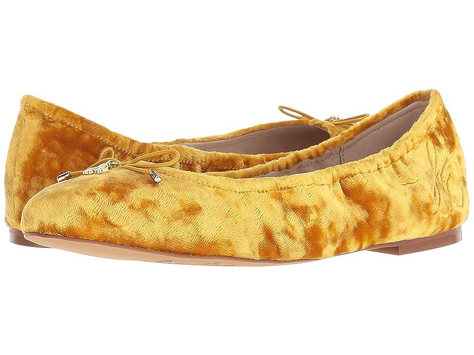 Sam Edelman Felicia (Tuscan Yellow Luxe Crushed Velvet) Women