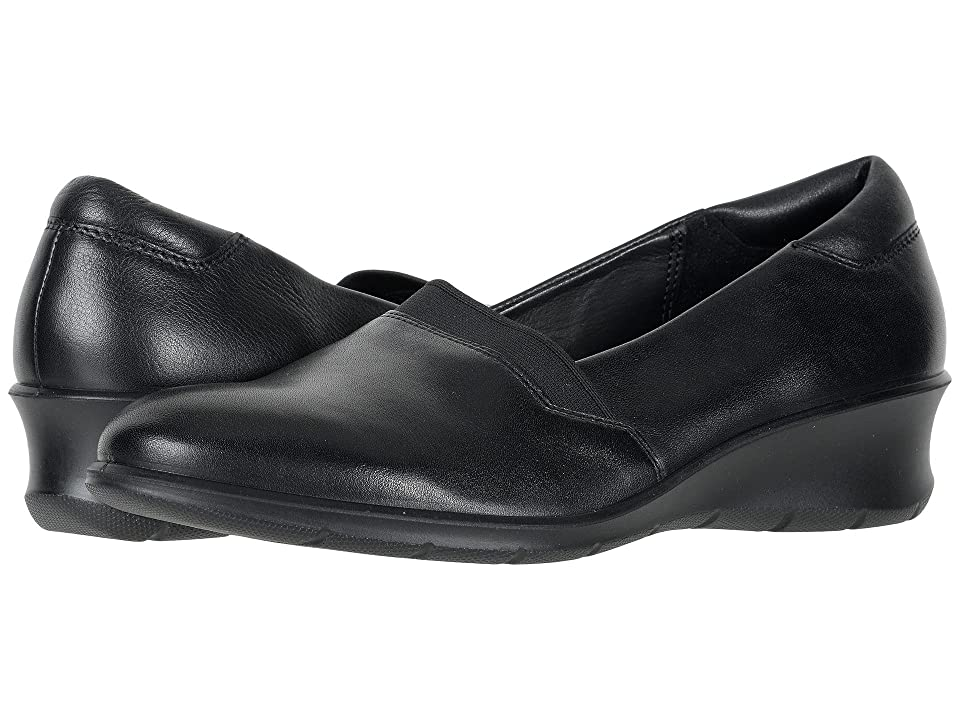 ECCO Felicia Slip-On II (Black Cow Leather) Women