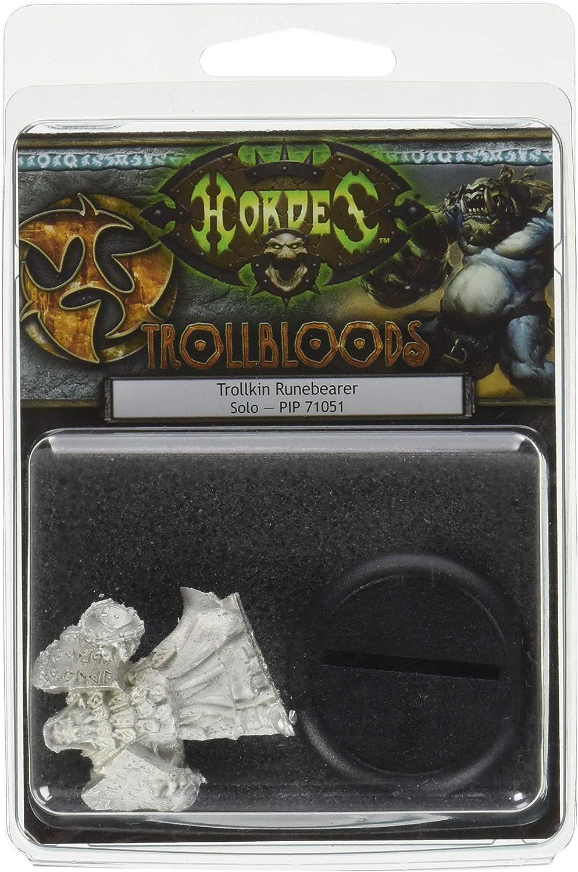Unbekannt Privateer Press–Hordes–Trollblood  Trollkin runebearer Model Kit
