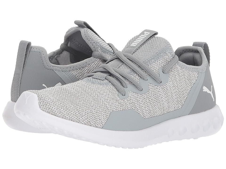 PUMA Carson 2 X Knit (Quarry/Puma White) Women