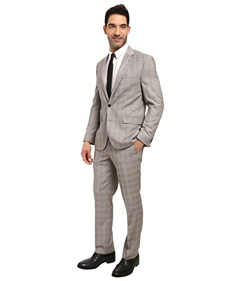 Grey Fit Plaid Cole Suit Kenneth Reaction Slim cqOSTc0I