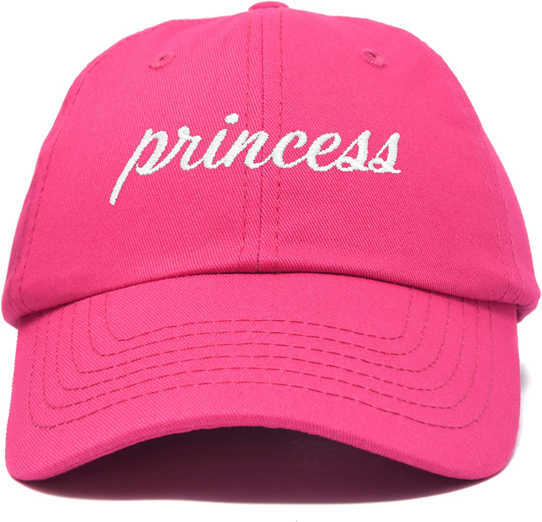 DALIX Princess Baseball Cap Womens Dad Hat
