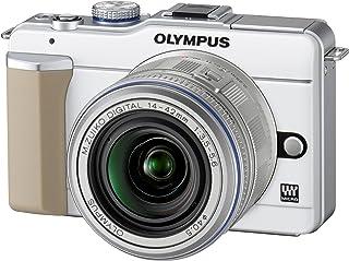 OLYMPUS ミラーレス一眼 PEN E-PL1レンズキット ホワイト E-PL1 LKIT WHT
