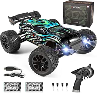 HAIBOXING RC Cars Hailstorm, 1:18 Scale 4WD High Speed 36+ km/h Remote Control Car Off Road Monster RC Truck with 2 Batter...