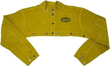 IRONCAT 7000 Heat Resistant Leather Cape Sleeve, Tan, 2XL