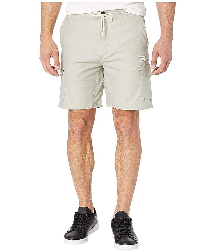 Hurley 19 Dri-Fit Breathe Cargo Shorts (Spruce Fog) Men