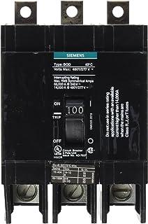 Siemens BQD3100 100-Amp Three Pole 480Y/277V AC 14KAIC Bolt in Breaker, COLOR