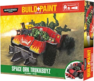Warhammer 40k Build+Paint Space Ork Trukkboyz