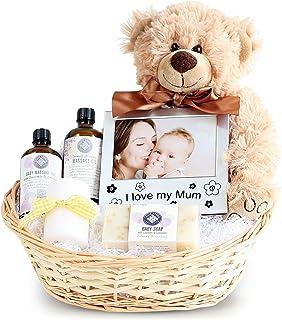 Pamper New Mum & Baby Gift Basket, Newborn Baby Hamper, Baby Shower Ideas, Christening Gifts, Maternity Presents