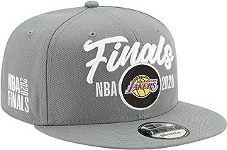 New Era NBA Finals LA Los Angeles Lakers 9FIFTY 2020 Western Conference Champions Locker Room Snapback Hat, Adjustable Gre...