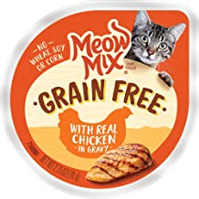 Meow Mix Grain Free Wet Cat Food, 2.75 Ounce (Pack of 12).