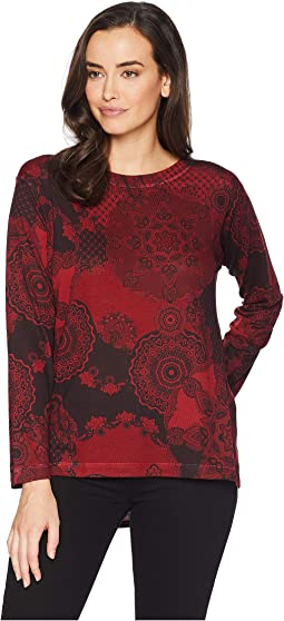 Paisley Printed Top