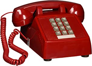 Cortelco ITT-2500-V-RD na 1-Handset Landline Telephone, Red photo