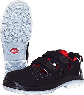 NITRAS 7422 Sandales de sécurité Micro Step Summer - Chaussures de Travail S1P pour Hommes, Femmes - Baskets antidérapantes
