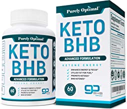 Premium Keto Diet Pills - Utilize Fat for Energy with Ketosis - Boost Energy & Focus, Manage Cravings, Support Metabolism ...