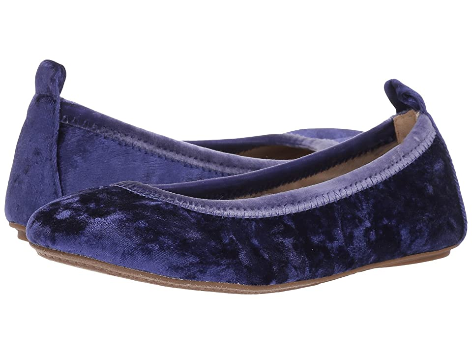 Yosi Samra Kids Limited Edition Miss Samara (Toddler/Little Kid/Big Kid) (Navy Velvet) Girls Shoes
