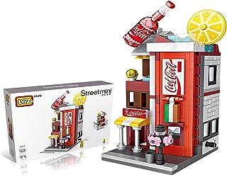 LOZ StreetMini Cola Drink Beverage Shop Architecture Blocks Building Plastic Assembly Toys for Children (1622)