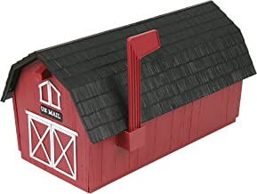 Flambeau T-1003 Barn with Black Roof, Red