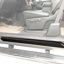 Red Hound Auto Custom Door Sill Entry Guard Kit Compatible with 2007-2013 Chevy GMC Silverado Sierra 1500, 08-14 2500/3500 Extended Cab Only - 6pc Kit