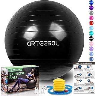 arteesol Balón de Ejercicio Anti-explosión, 45cm / 55cm /