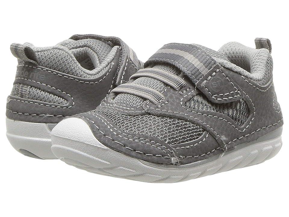Stride Rite SM Adrian (Infant/Toddler) (Grey) Boys Shoes