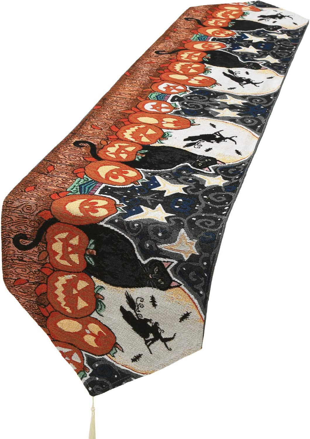 Decorative Ranking TOP20 Table Runner Linen Cloth specialty shop for with Hallo Tassels