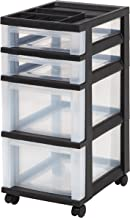 plastic shelf with drawers