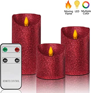 Best glitter candle electric Reviews
