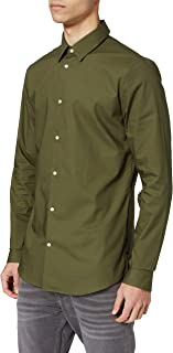 Scotch & Soda Slim Fit-Classic Cotton Elastane Shirt Camisa para Hombre