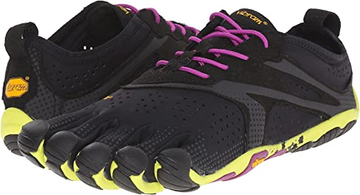 Black/Yellow/Purple
